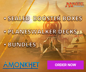 Magic: The Gathering - Amonkhet Items NOW ON SALE